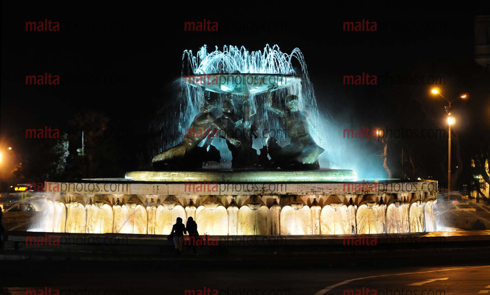 Valletta Triton S Fountain Malta Photos