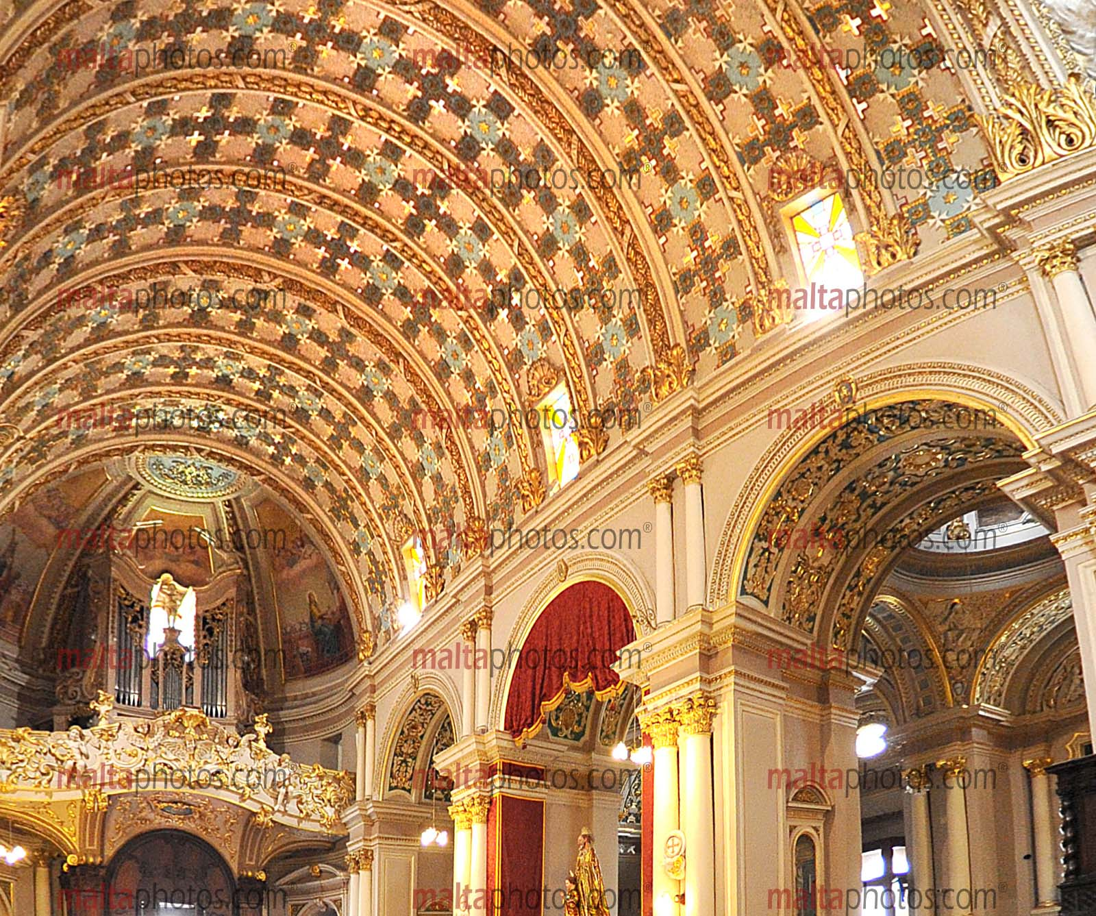 Naxxar Parish Church Vitorja Maria Marija Bambina Dome