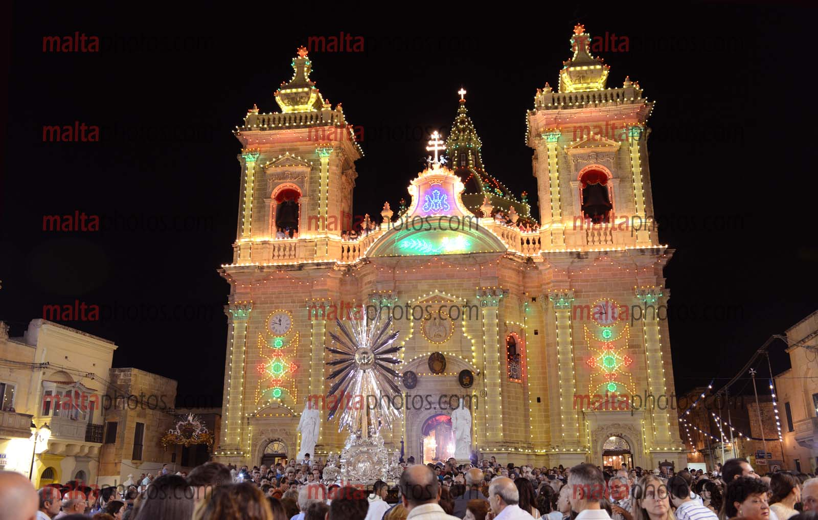 Xaghra Gozo Church Religion Religious Feast Festa Marija