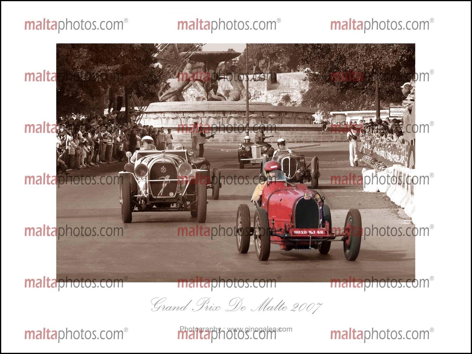 Vehicles Vintage Old Classic Cars Gran Prix - Malta Photos