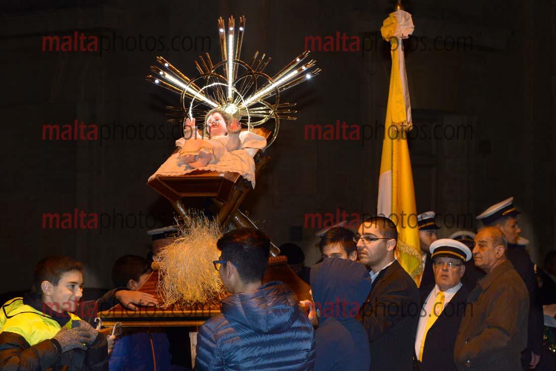 Baby Jesus Procession Museum Tal Muzew Lija Purcissjoni